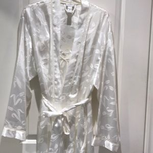 Silky Robe & Matching Night Gown